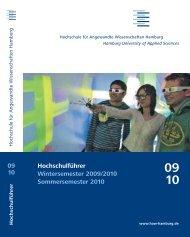 Hochschulführer Wintersemester 2009/2010 Sommersemester 2010 ...