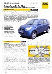 Daihatsu Terios 1.5 Top Allrad - ADAC
