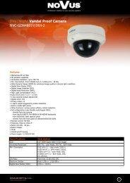 Day/Night Vandal Proof Camera NVC-GDN4801V/IRH-2
