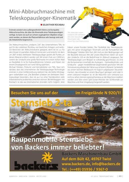 Treffpunkt.Bau 03/2016