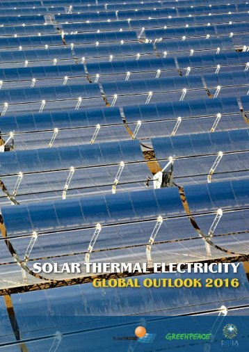 Solar Thermal Electricity: Global Outlook 2016