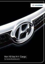 Von i10 bis H-1 Cargo. - Hyundai Presselounge