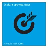 European Research and Innovation Programmes for SMEs