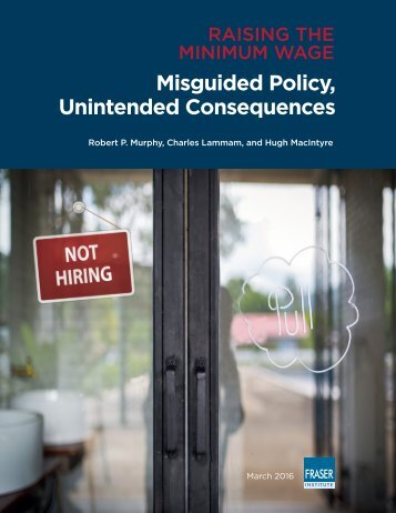 Misguided Policy Unintended Consequences
