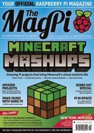 YOUR OFFICIAL RASPBERRY PI MAGAZINE