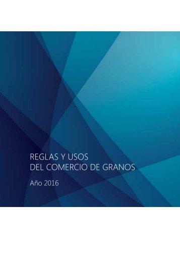 REGLAS Y USOS DEL COMERCIO DE GRANOS