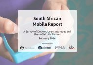 South African Mobile Report