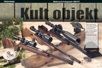 Weihrauch-Luftgewehr HW 97 TECHNIK - Weihrauch-Sport.de
