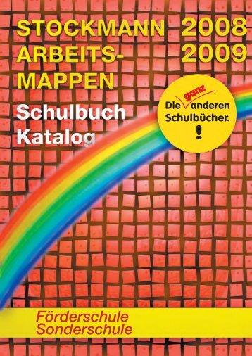 Förderschule Sonderschule -  Stockmann-Verlag