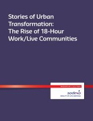 Stories of Urban Transformation The Rise of 18-Hour Work/Live Communities