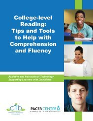 College-level Reading Tips and Tools to Help with Comprehension and Fluency