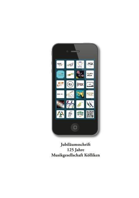 Jubiläumsschrift 125 Jahre Musikgesellschaft Kölliken