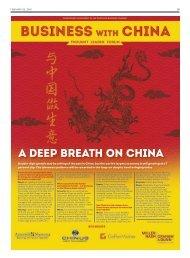 A deep breath on China