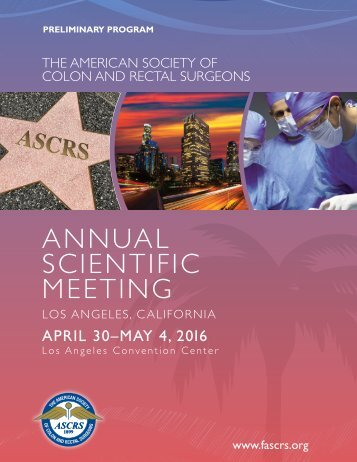 ANNUAL SCIENTIFIC MEETING