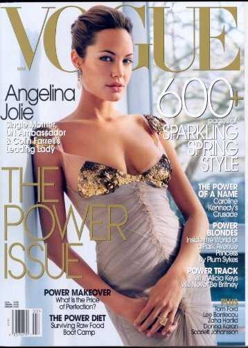 VOGUE, March 2004 - Mesotherapy