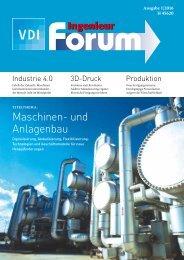 VDI Ingenieur forum 1_2016