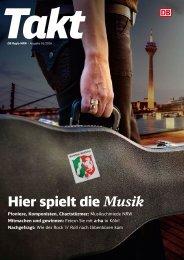 Takt NRW: Hier spielt die Musik