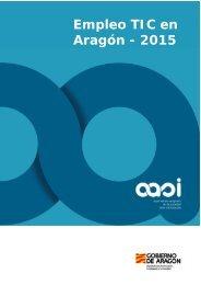 Empleo TIC en Aragón - 2015