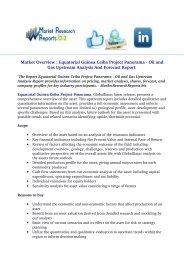 Equatorial Guinea Ceiba Project Panorama - Oil and Gas Upstream Analysis Report