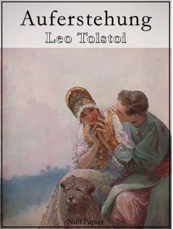Auferstehung - Leo Tolstoi