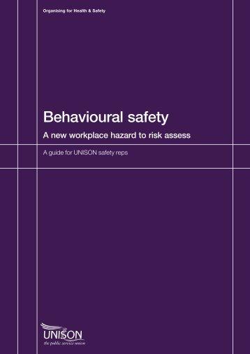 Behavioural safety