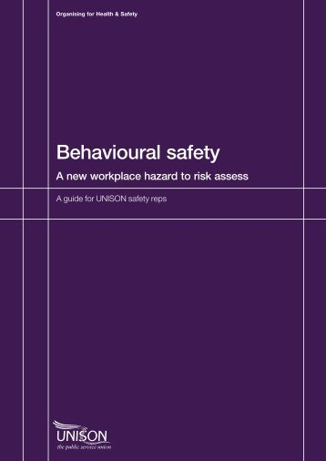 Behavioural safety
