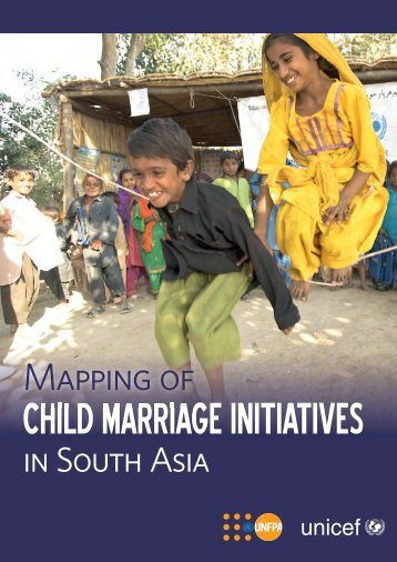 CHILD MARRIAGE INITIATIVES