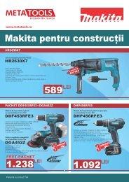 Makita pentru Constructii 2016