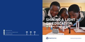 SHINING A LIGHT ON EDUCATION