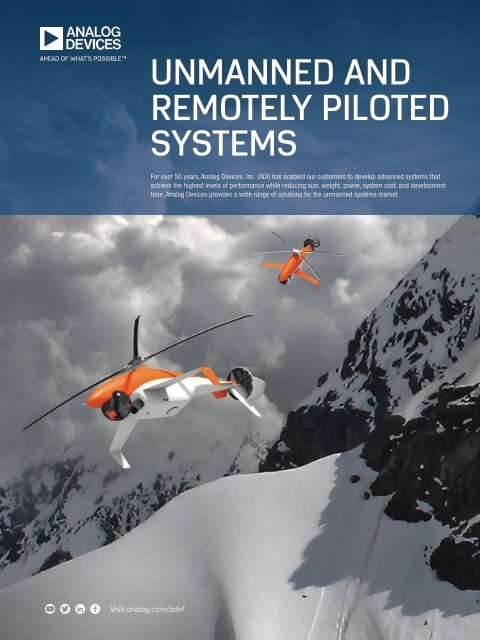 UNMANNED AND REMOTELY PILOTED SYSTEMS