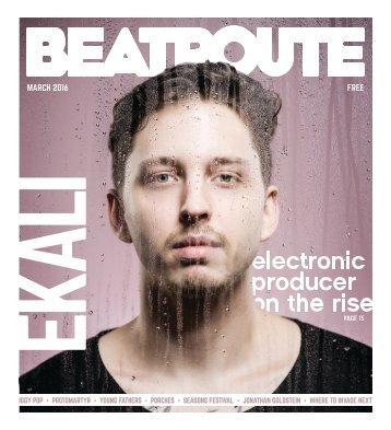 BeatRoute Magazine B.C. print e-edition - March 2016