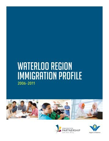 Waterloo Region Immigration Profile