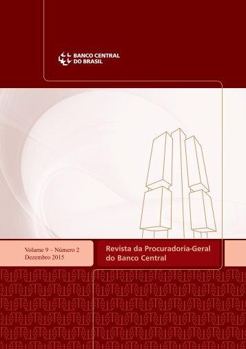 Revista da Procuradoria-Geral do Banco Central