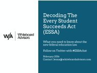 Decoding The Every Student Succeeds Act (ESSA)