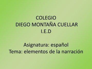 Español grado octavo