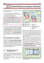 2200 Gemischbildung im Vergaser-Ottomotor - Westermann