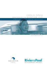 Riviera Pool Preisliste iSolaSpas 2016