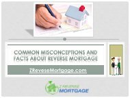 Common Misconceptions And Facts About Reverse Mortgage - Z Reverse Mortgage