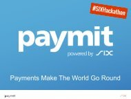 Payments Make The World Go Round
