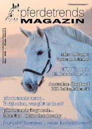 pferdetrendsMagazin No. 05 - Dez 2016 - Feb 2017