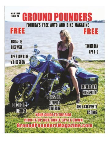Ground Pounders March Issue