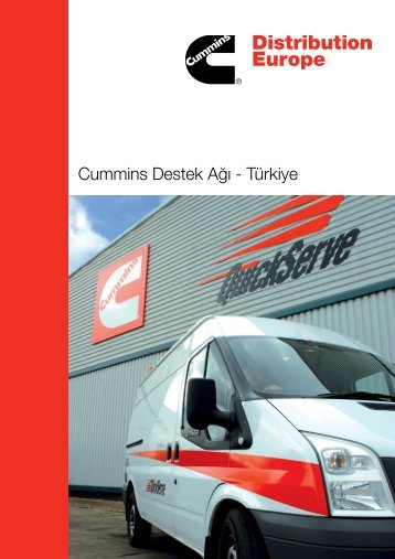 Cummins Destek Ağı - Türkiye