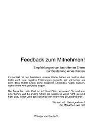 Flyer für Bestatter Whisper von Soul e.V.