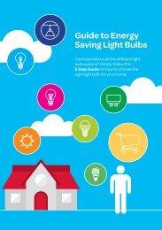 Guide to Energy Saving Light Bulbs
