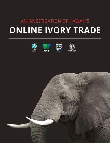 Online Ivory Trade