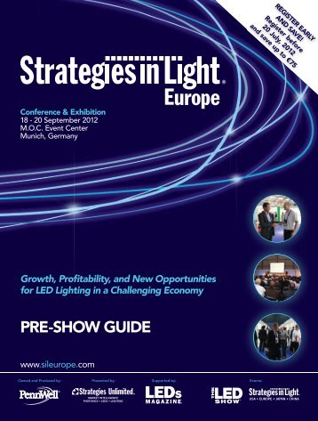 Growth, Pro tability, and New Opportunities for LED Lighting in a ...