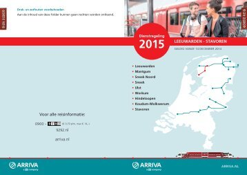 Arriva Leeuwarden_Stavoren 2015