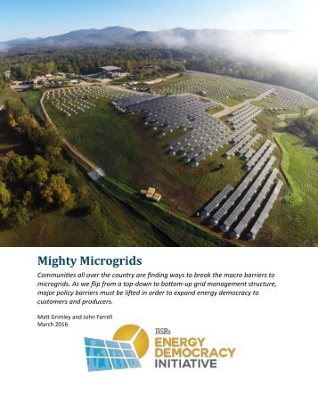 Mighty Microgrids