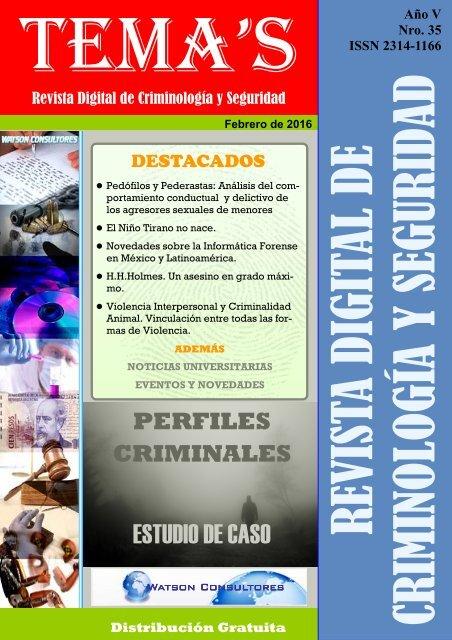 35 Revista Digital De Criminología Y Seguridad 1