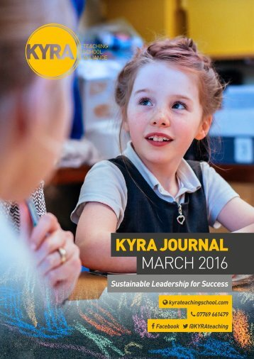KYRA JOURNAL MARCH 2016